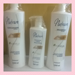 Kit Capilar Profissional Nutrare