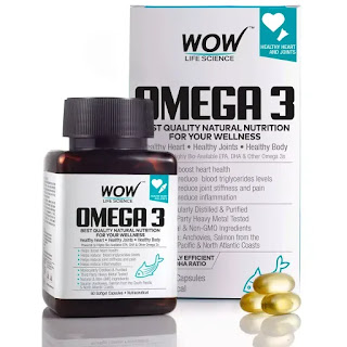 WOW Omega-3 Fish Oil Triple Strength