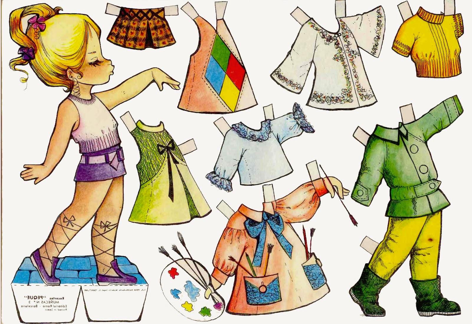 Juegos Para Vestir Juguetes Imprimir Muñecas Para Vestir