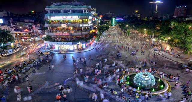 Ho Guom Walking Street - A great place for fun & relaxation in Hanoi