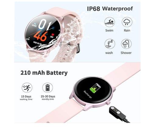 CUBOT W03 IP68 Waterproof Fitness Tracker Smart Watch