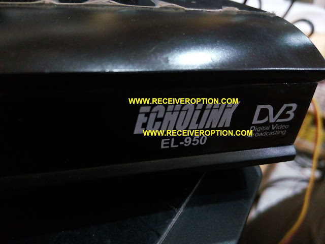 ECHOLINK EL-950 HD RECEIVER FLASH FILE