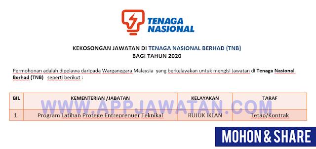 Program Latihan Protege Entreprenuer
