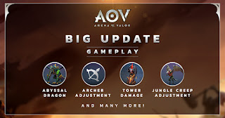 Update gameplay Garena AOV