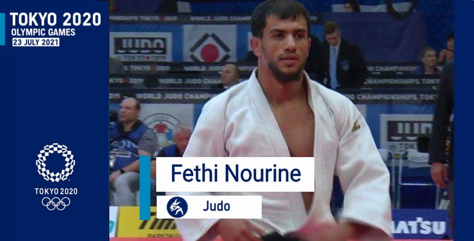 المصارع الجزائري نورين فتحي يتأهل الى الألعاب الأولمبية
