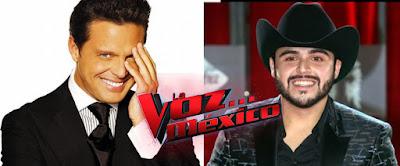 Buscan a Luis Miguel y a Gerardo Ortiz en La Voz México