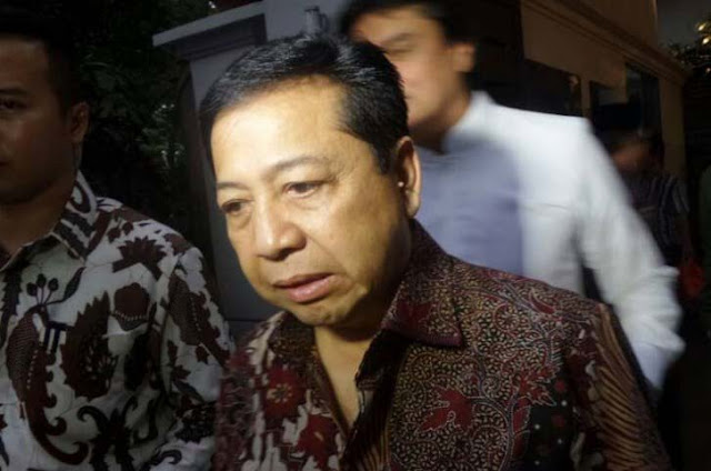 Tak Penuhi Panggilan KPK, Novanto Kembali Beralasan Harus Izin Presiden