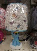 Rainbow Dash Lamp at Target