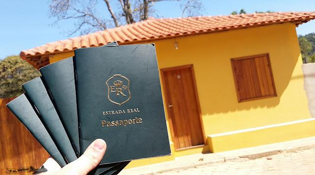 Passaporte, Estrada Real, Caminho dos Diamantes, Tapera, SAnto Antônio do Norte,