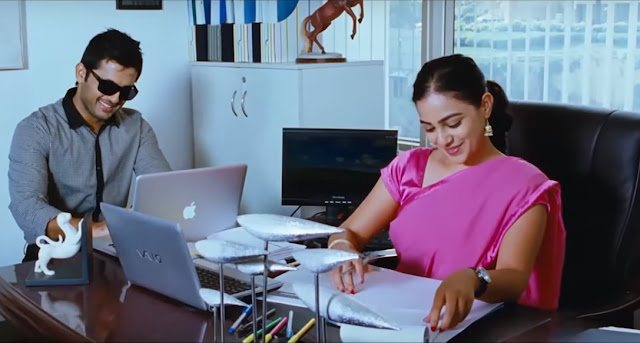 Nithin and Nthya Menen in the movie Gunde Jaari Gallanthayyinde (2013). Gunde Jaari Gallanthayyinde (2013) is an Indian Telugu romantic comedy film written and directed by Vijay Kumar Konda. The film is starred by Nithin, Nithya Menen and Isha Talwar in the lead roles.   Gunde Jaari Gallanthayyinde (2013)  is a romantic comedy movie that has most of the time, romance. There are some comedy scenes but they are not more than romantic scenes. And there is also some action scenes. But this movie is belong to romantic one.     Watch the full Hindi dubbed movie Gunde Jaari Gallanthayyinde (2013) here...