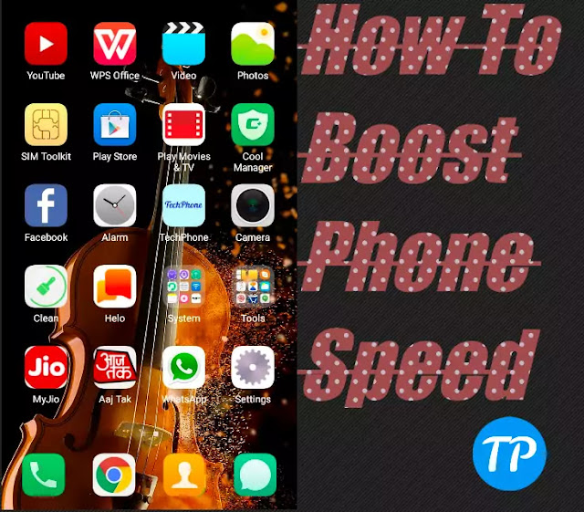How to boost mobile speed.