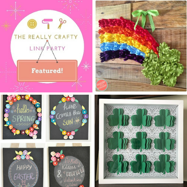 The Really Crafty Link Party #58 featured posts!