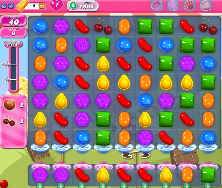 Candy Crush Saga 1664