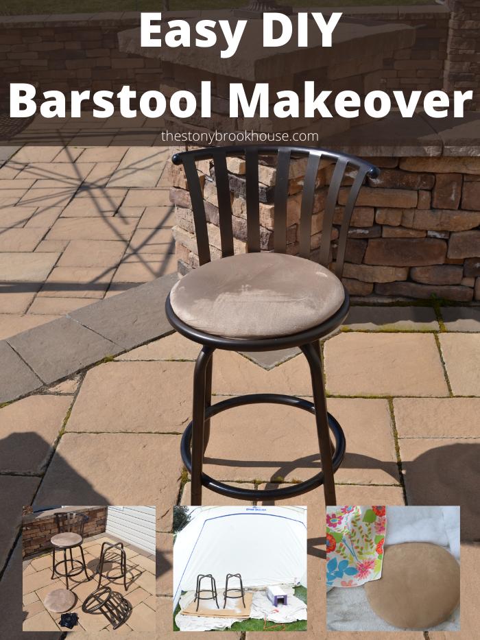 Easy DIY Barstool Makeover