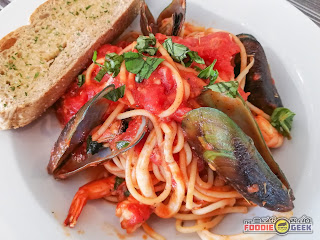 Eddie's Kitchen, Italian Cuisine, American Cuisine, Antipolo, seafood marinara pasta