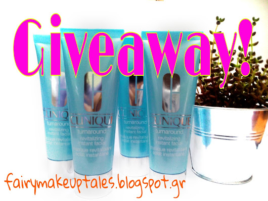 Win 2 Turnaround Instant Facial Masks by Clinique!