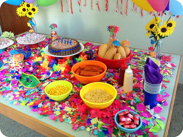 Decoração : Festa Carnaval - Mesa / Lanche