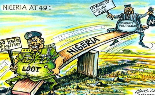 "Check out this hilarious ""Nigeria at 49"" illustration"