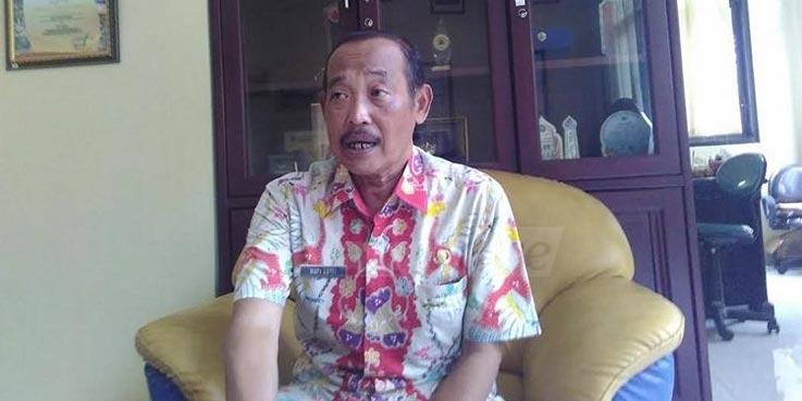 Kepala Dinas Perhubungan (Kadishub) Kabupaten Malang Eka Hafi Lutfi.