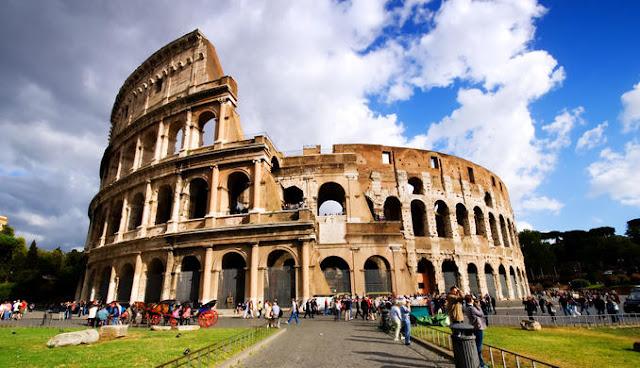 Sobre a viagem de trem de Pisa a Roma