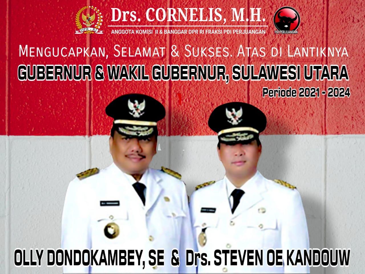 Anggota Komisi Ii Dpr Ri Ucapan Selamat Dan Sukses Atas Dilantiknya Gubernur Dan Wakil Gubernur Sulawesi Utara