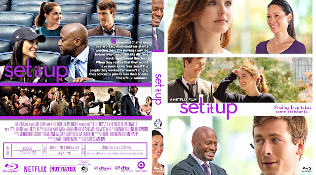 Set It Up Bluray Cover