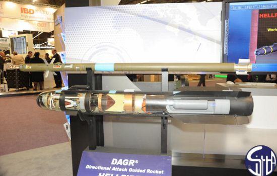 Rudal anti tank AGM-114R HELLFIRE II Romeo