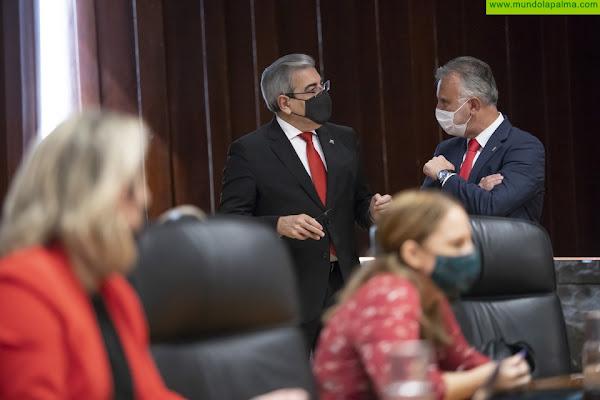El Consejo autoriza los convenios entre la Agencia Tributaria Canaria y los ayuntamientos de El Paso y Tijarafe para el cobro en vía ejecutiva
