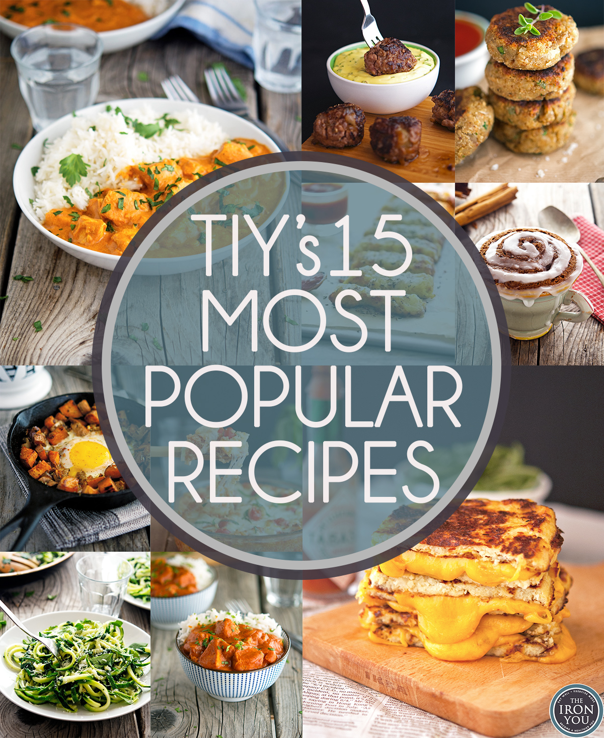 TIY's 15 Most Popular Recipes