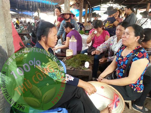 Chợ trà Phúc Xuân Thái Nguyên