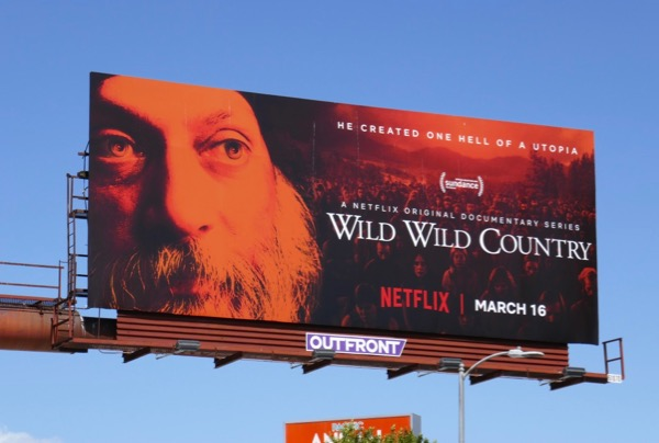 Wild Wild Country docu series billboard