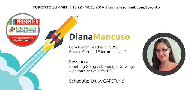 GAFE Summit Toronto 2016 presenter