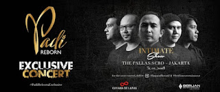 cari tiket event exclusive concert Intimate Show With Padi Reborn di the pallas jakarta