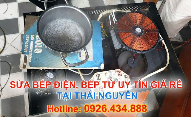 Địa chỉ Sửa Bếp Từ tại nhà Thái Nguyên Giá rẻ Bảo hành dài