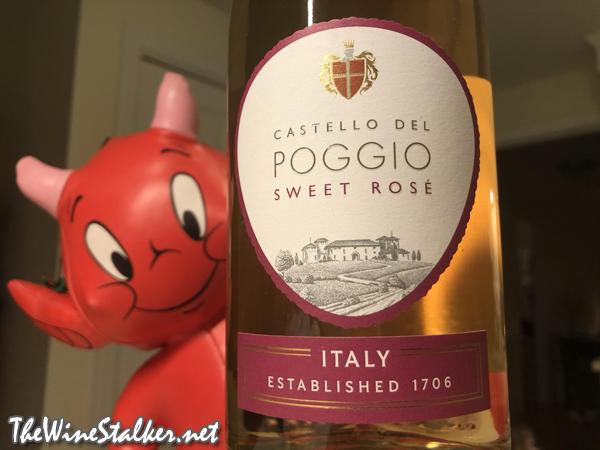 Castello del Poggio Sweet Rosé