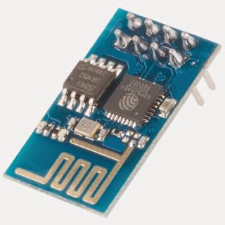 Foto ilustrativa modulo ESP8266