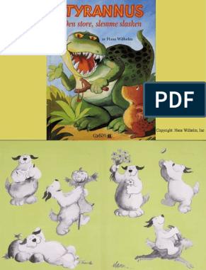 قصص مبسطة للقراءة وتعلم السويدية قصة - Tyrannus den store slemme slasken pdf