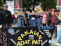Karnaval Budaya Nusantara Meriahkan HUT SMAN 1 Jakenan