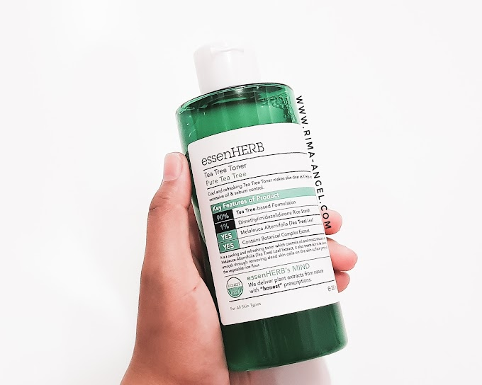 Review essenHerb Tea Tree Toner