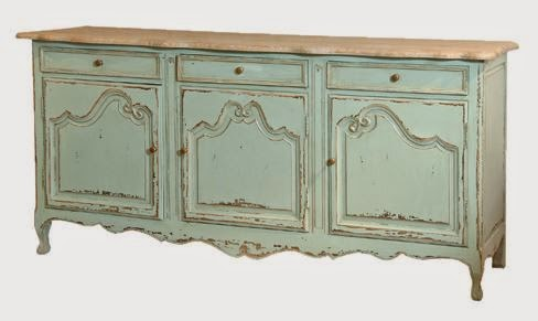 french shabby sideboard