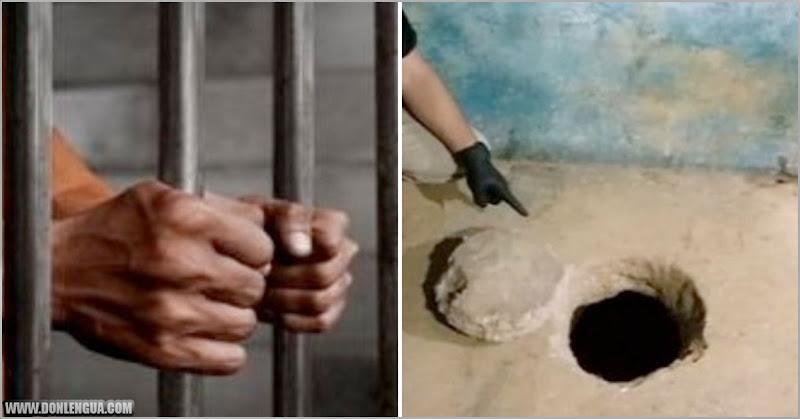 Presos peligrosos perforaron el piso de concreto y se fugaron de la cárcel el Falcón