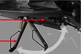 Fitur Side Switch Stand atau Saklar Standar Samping di Matik Honda