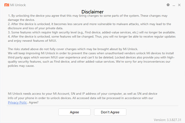 Unlocking Xiaomi Redmi Bootloader 2