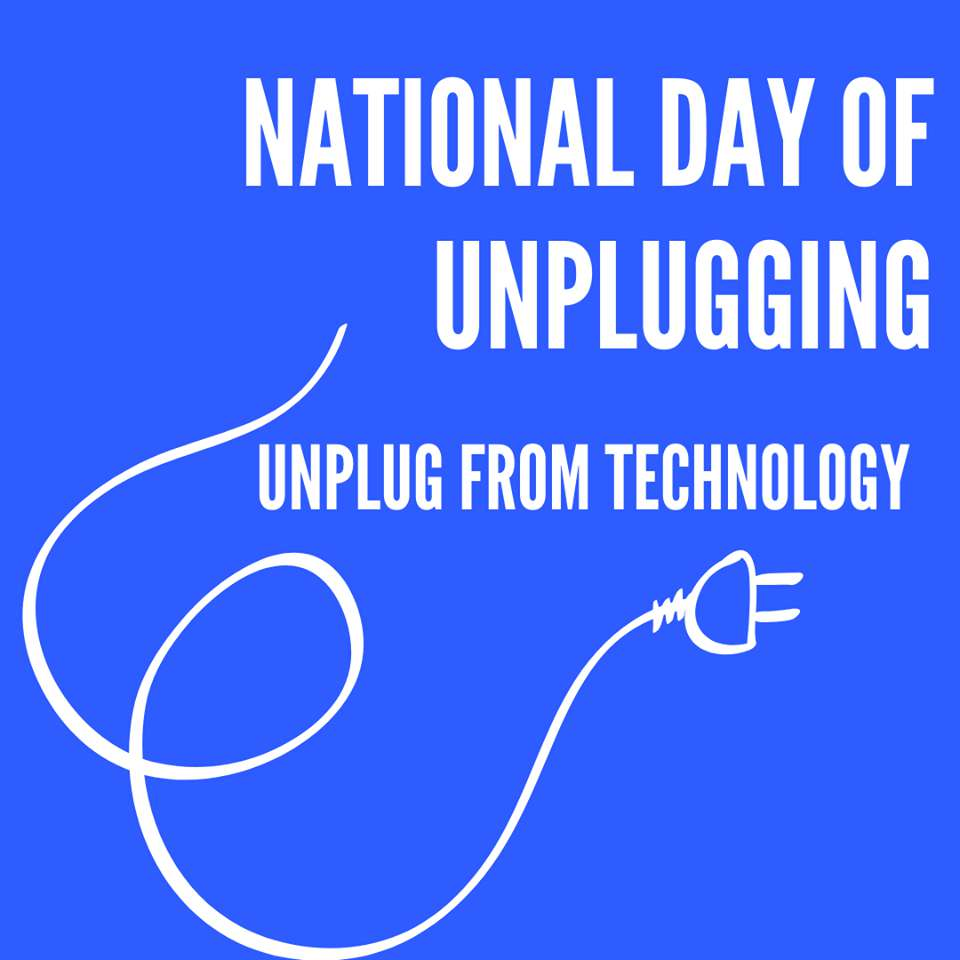 National Day of Unplugging Wishes for Instagram