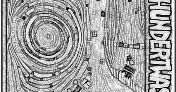Hundertwasser Bilder Zum Ausdrucken - Ausmalbilder