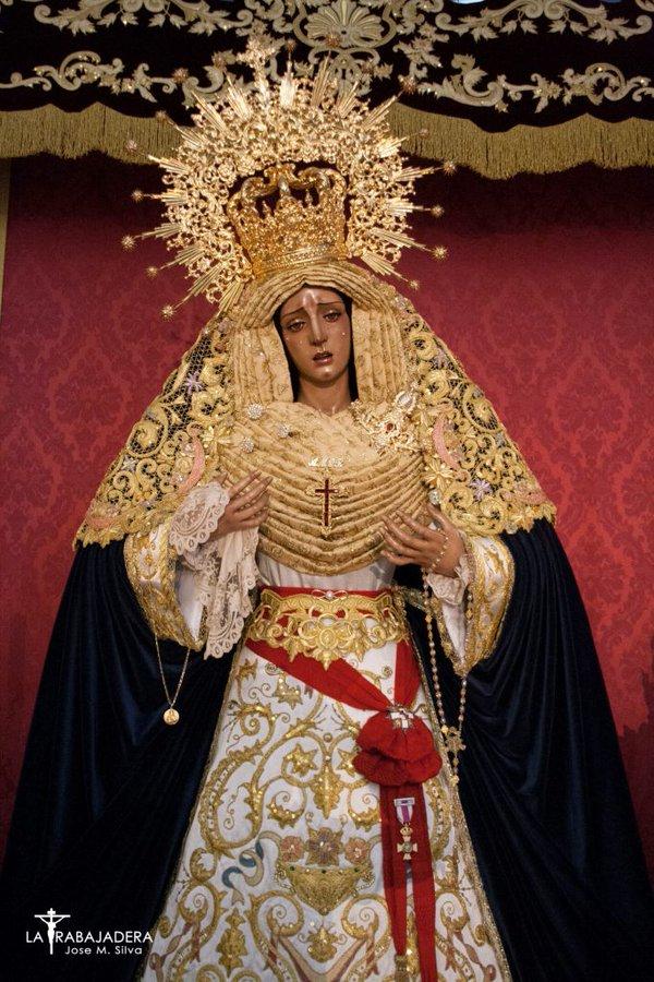 Rosario de la Aurora de María Santísima del Amor de Sevilla (10/10/21): Horarios e Itinerarios