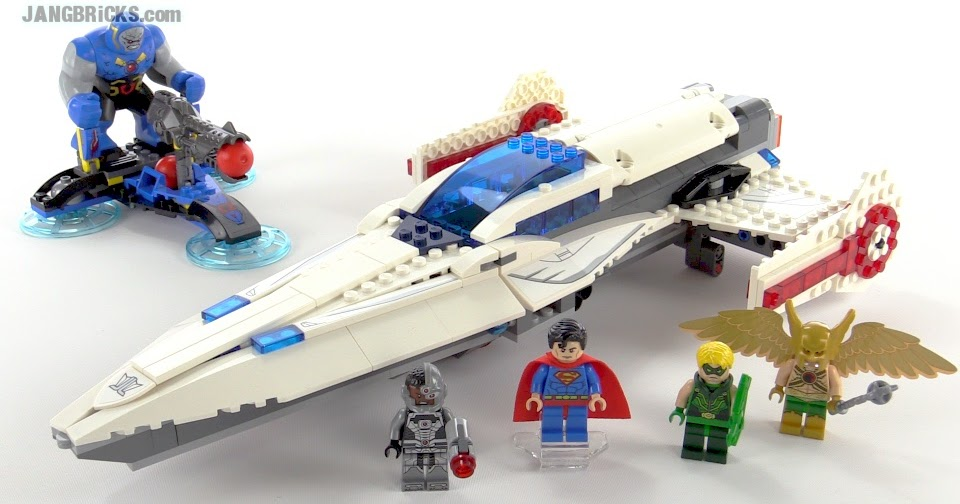 LEGO DC Super Heroes Darkseid Invasion review! set 76028