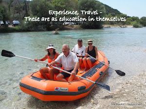 Experience, Travel - These are as education in themselves