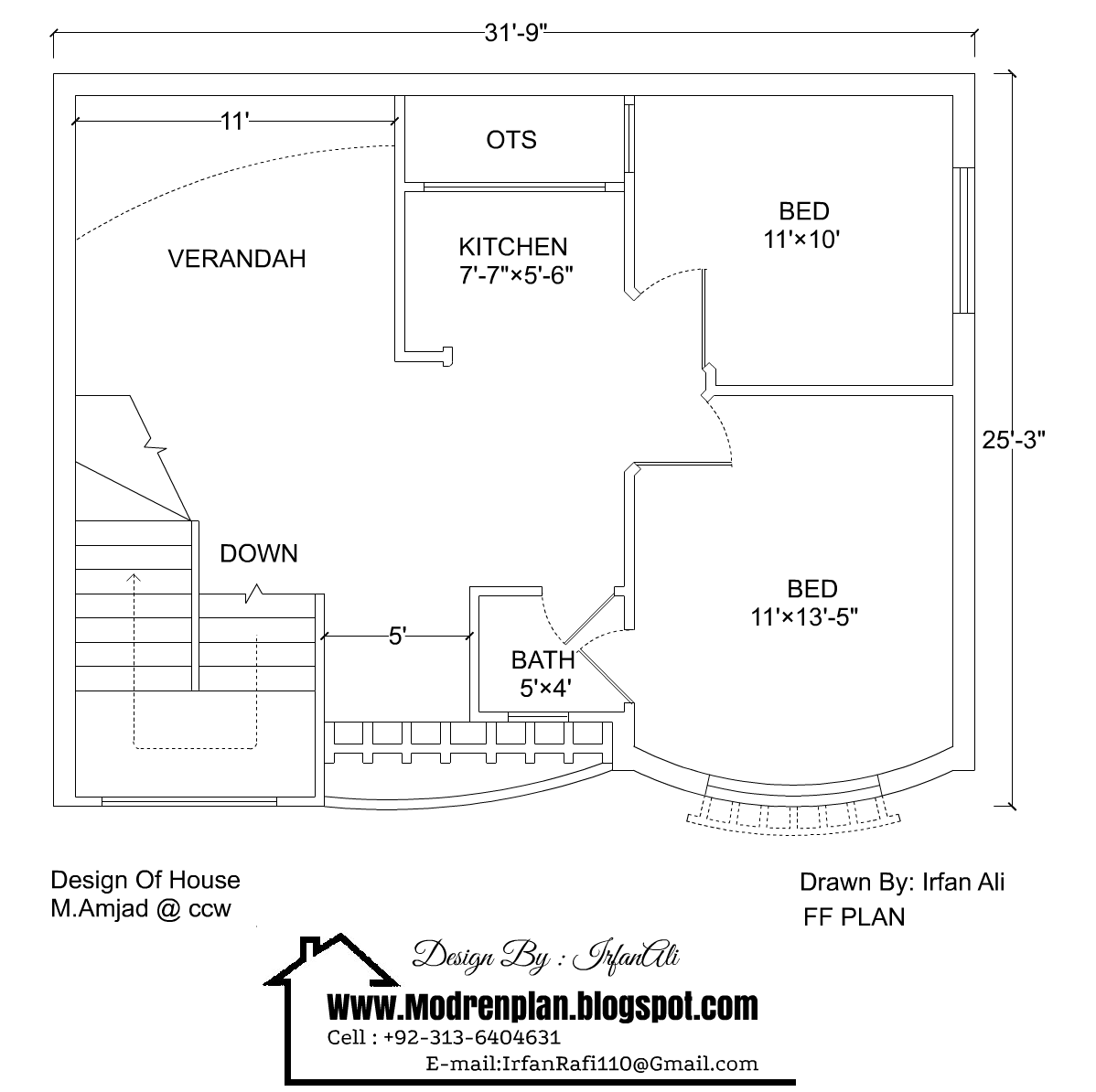 3 Marla House Plan 31 39 9 25 39 3 House Plan