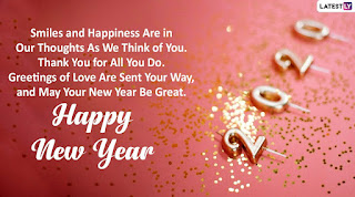 Happy New Year 2020 wishes, messages, greetings - 123 SMSFUN